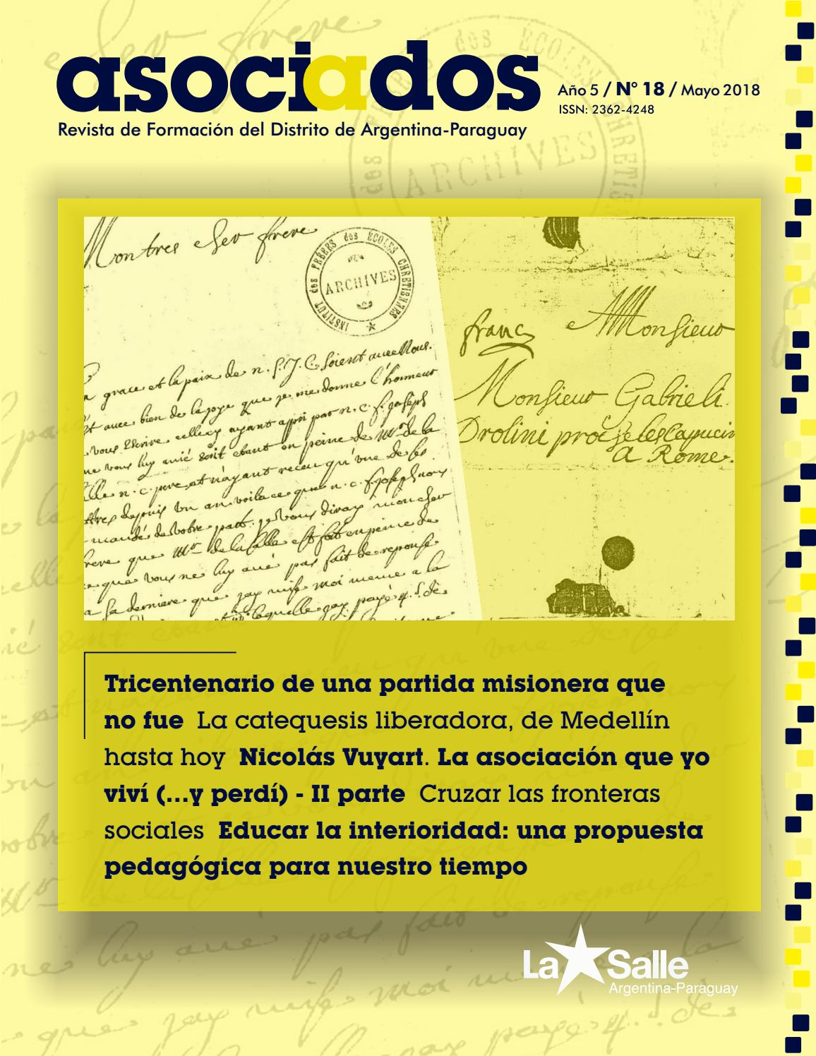 Asociados 18 by La Salle Argentina-Paraguay - issuu