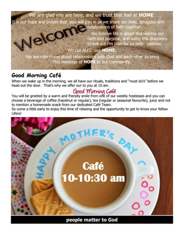 Page 3 of May events and happenings of the Abundant LIfe