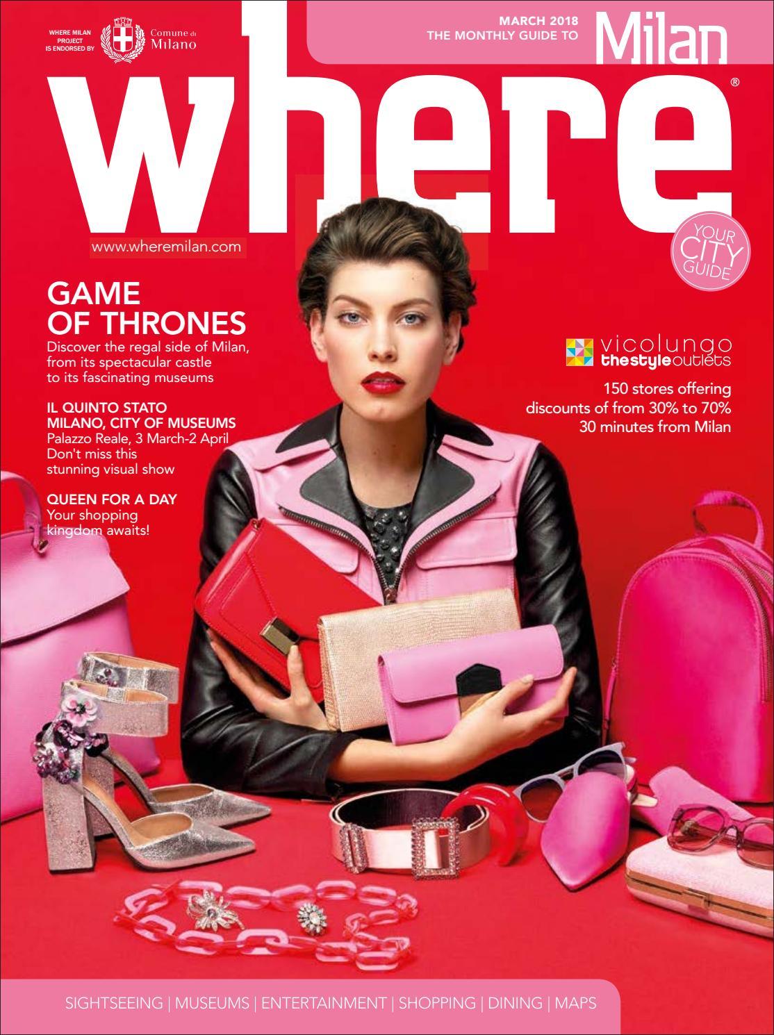 Where Magazine Milan Mar 2018 by Morris Media Network - issuu b3353c292