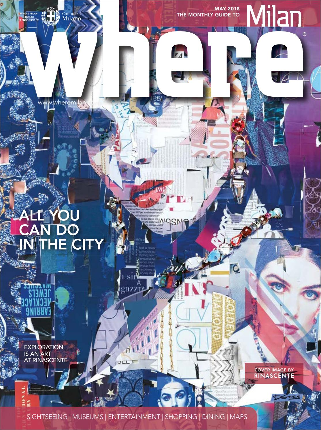 Where Magazine Milan May 2018 by Morris Media Network - issuu 289c758dfe4