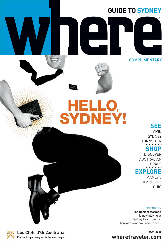 b12d9e00e9c3f Where Magazine Sydney May 2018 by Morris Media Network - issuu