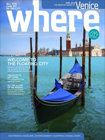 Where Magazine Venice Apr 2018 by Morris Media Network - issuu