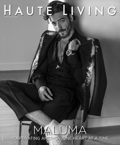 5b69cac80349 Miami April May 2018 Maluma by Haute Living - issuu
