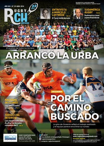 Revista Rugby Champagne 159 Abril 2018 by Rugby Champagne - issuu 39a55b1bda0e7