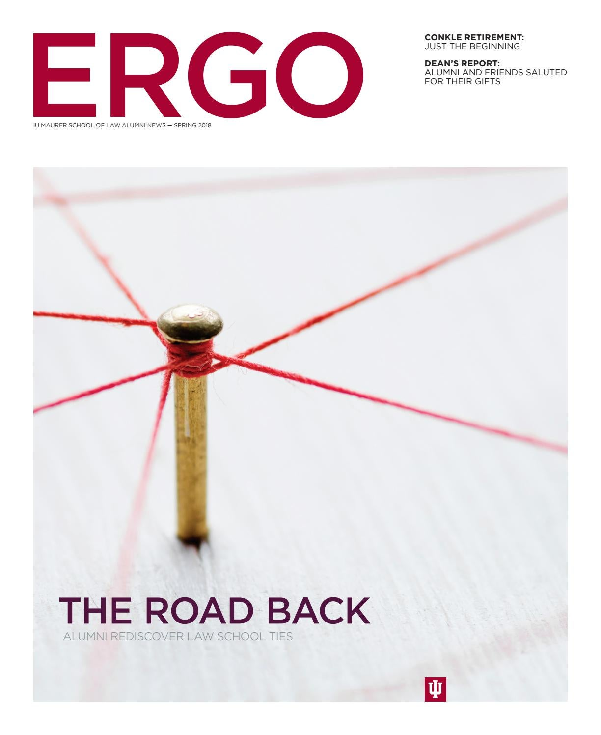 ERGO, Spring 2018 by Ken Turchi - issuu