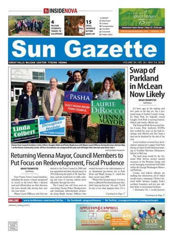 Sun Gazette Fairfax, May 3, 2018