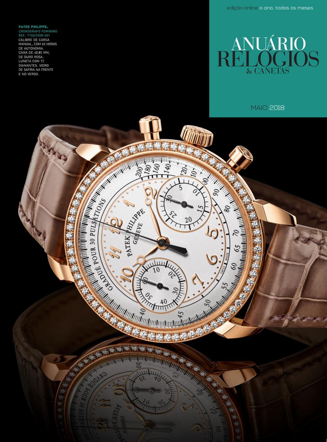 7d3310d7cb8 Anuário Relógios   Canetas - Maio 2018 by Anuário Relógios   Canetas - issuu