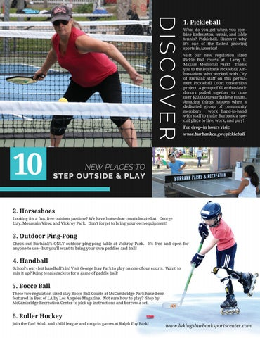 Page 8 of Discover 10 Ways to Step Out & Play
