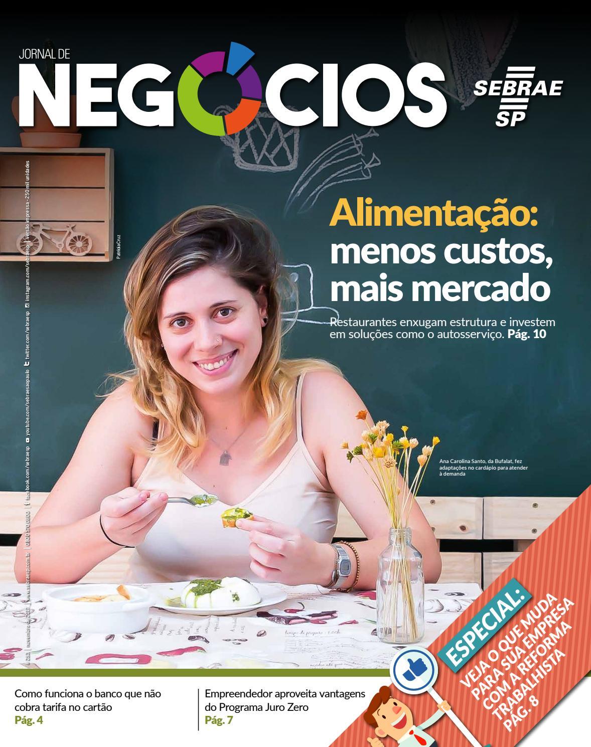 42f33d19c Jornal de Negócios - 01 de Novembro 2017 by Sebrae-SP - issuu