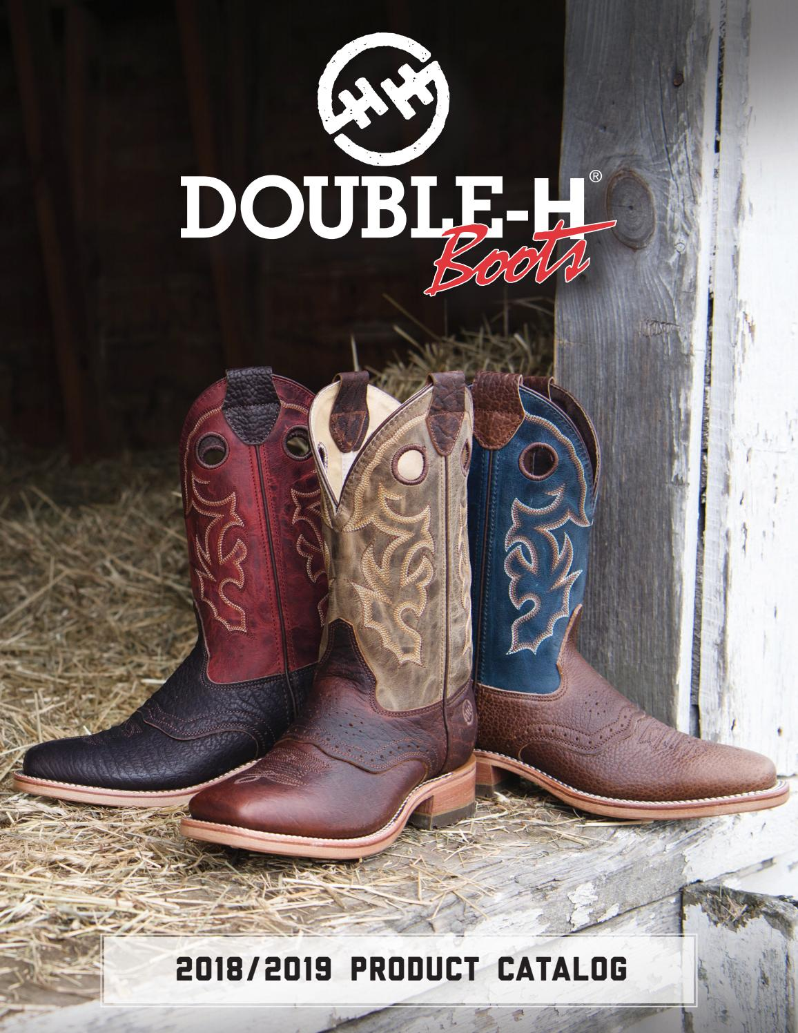 52cb66979b1 2018 Double H Catalog by HH Brown Work & Outdoor Group - issuu