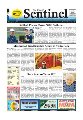 WS May 4 2018 By Weekly Sentinel