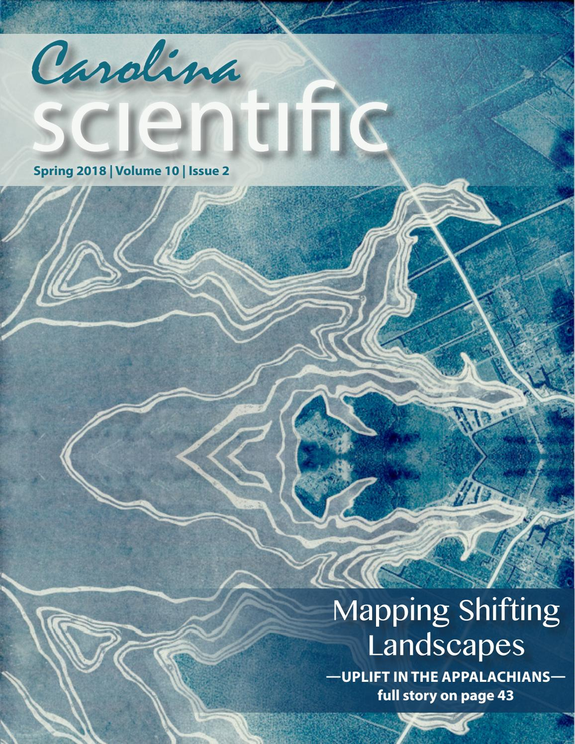 Spring 2018-- Mapping Shifting Landscapes by Carolina Scientific - issuu