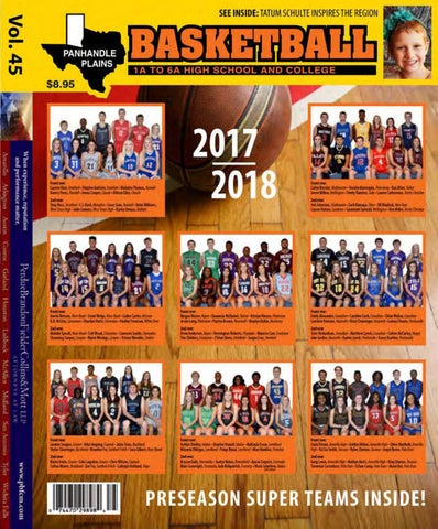 Panhandle Plains Basketball Magazine 2017 2018 by ppb.haynes
