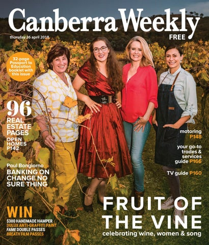a08be7effa65d 03 May 2018 by Canberra Weekly Magazine - issuu