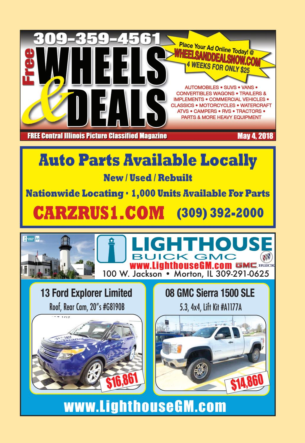 May 4 2018 By Wheels And Deals Issuu Saturn Vue Lift Kit