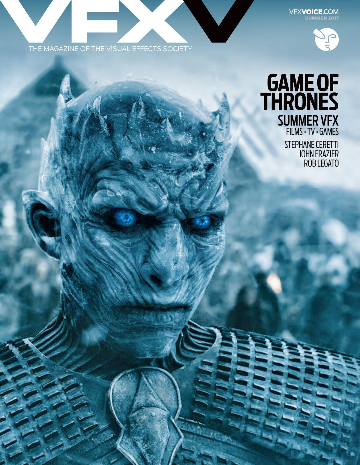 VFX Voice - Summer 2017 Issue by Visual Effects Society - issuu