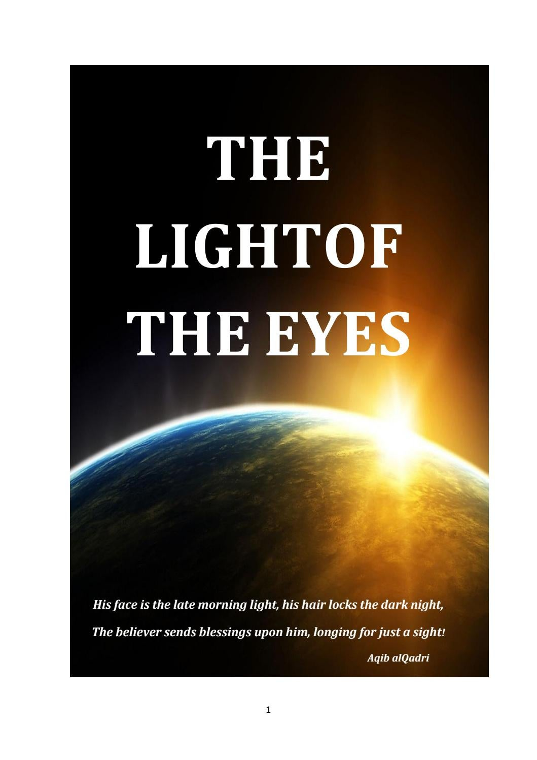 The light of the eyes by Farhan Ali Attari - issuu