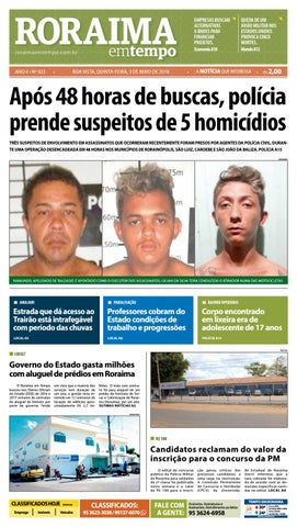 Jornal roraima em tempo – edição 923 by RoraimaEmTempo - issuu 775e995928