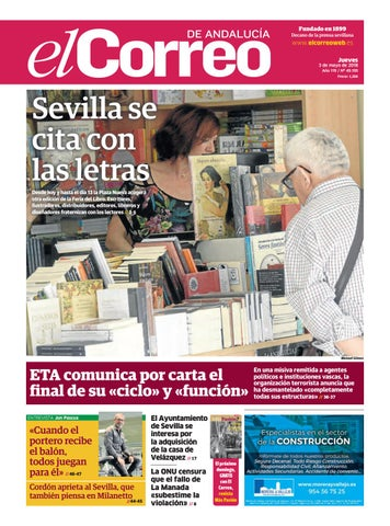 03.05.2018 El Correo de Andalucía by EL CORREO DE ANDALUCÍA S.L. - issuu ea91197bf130f