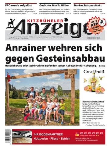 Kitzbüheler Anzeiger Kw 18 2018 By Kitzanzeiger Issuu