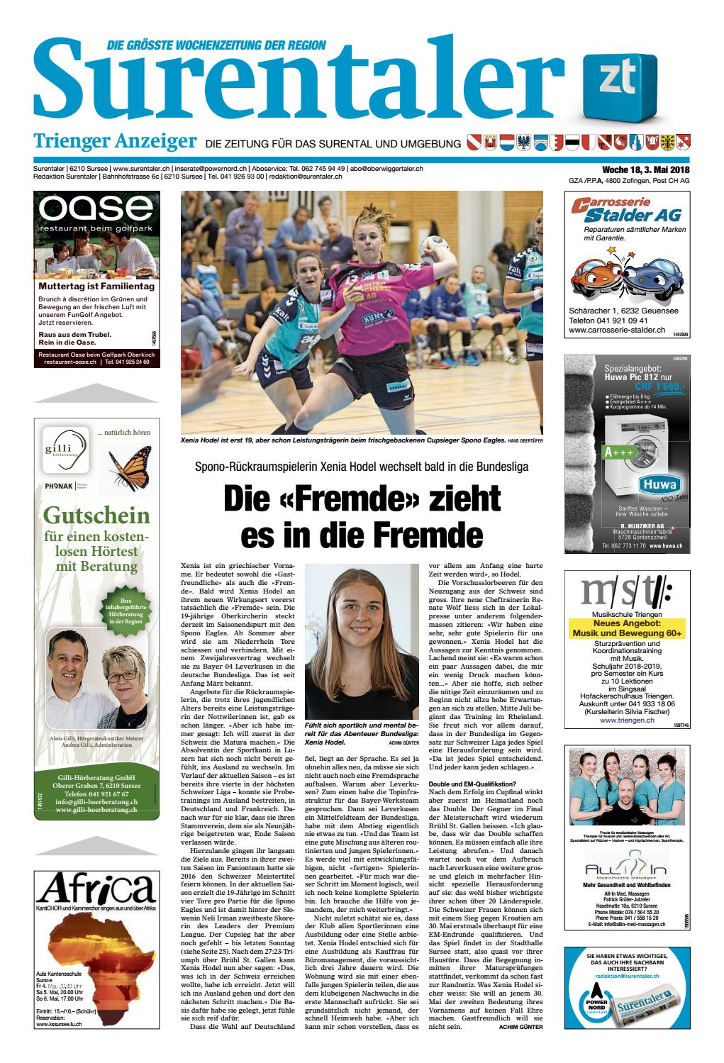 Surentaler 18/18 by ZT Medien AG - issuu