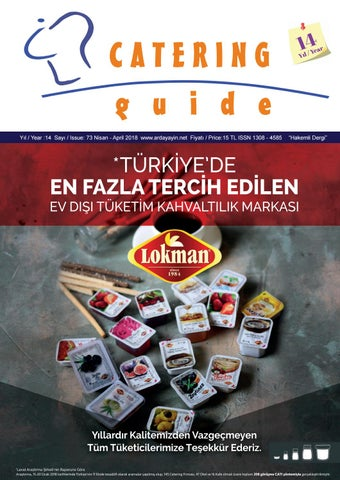 cd121afc8a34c Cg 73 e dergi 2018 by Catering Guide dergisi - issuu