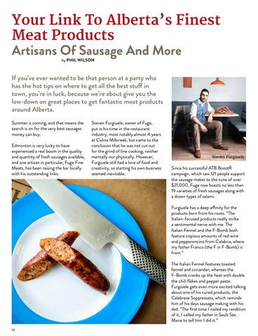 Page 14 of Your Link to Alberta's Finest Meat Products