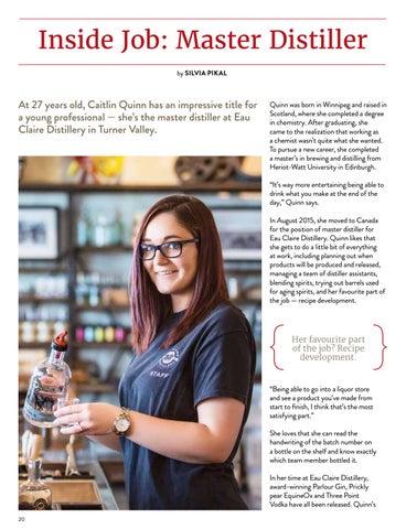 Page 20 of Inside Job: Master Distiller
