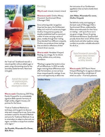 Page 23 of Hot Okanagan: Wines That Shine