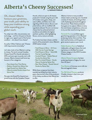 Page 26 of Alberta's Cheesy Successes