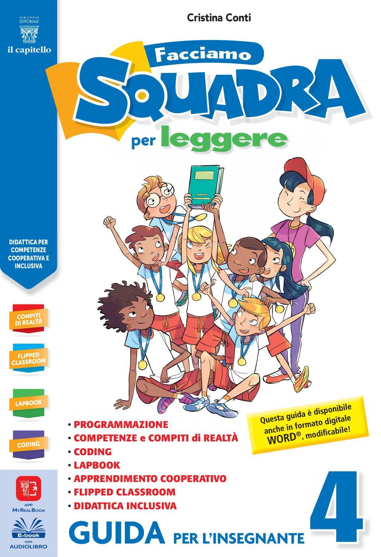 Facciamo squadra per leggere 4 - GUIDA per l Insegnante - Storia-Geografia  by Gruppo Editoriale il capitello - issuu 7563b46ecb3