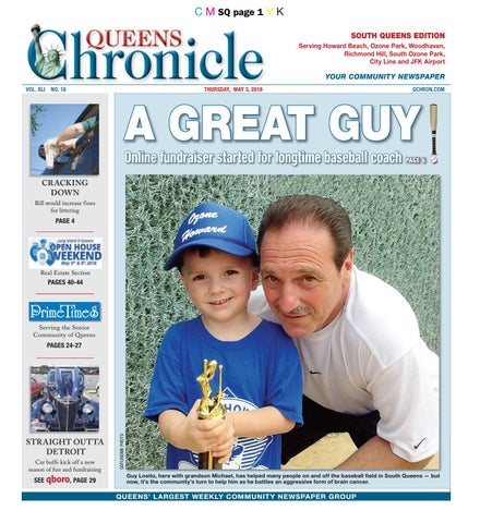 queens chronicle south edition 05 03 18 by queens chronicle issuu