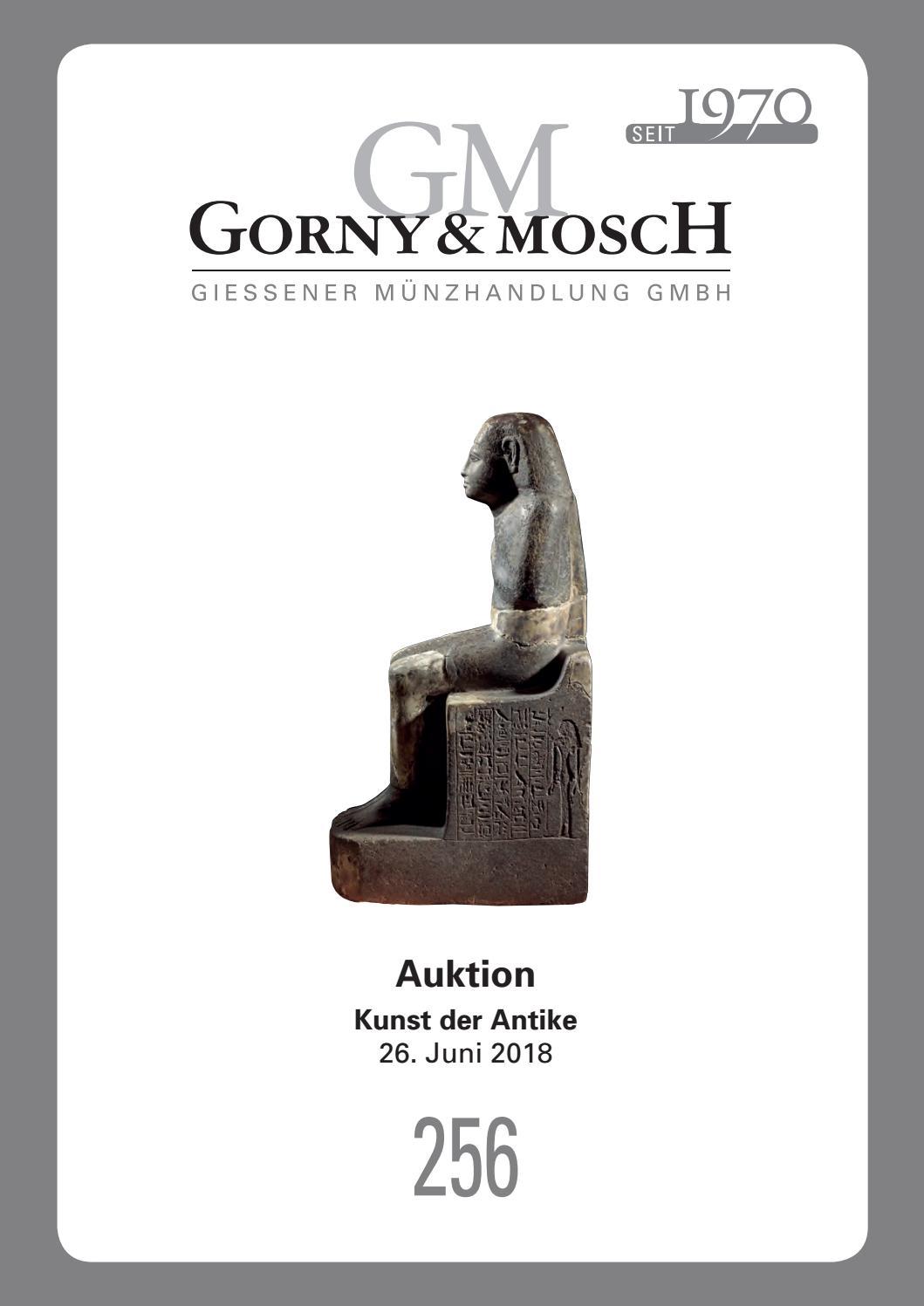 Gorny Mosch Auktionskatalog 256 By Gorny Mosch Giessener Munzhandlung Gmbh Issuu