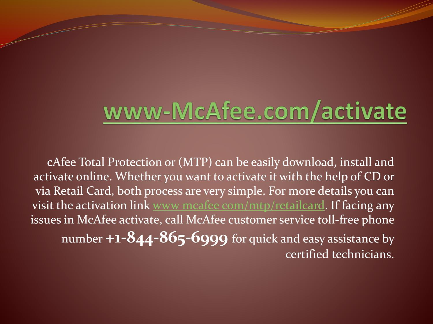 www mcafee com/activate| Mcfee Activate Product key - Enter