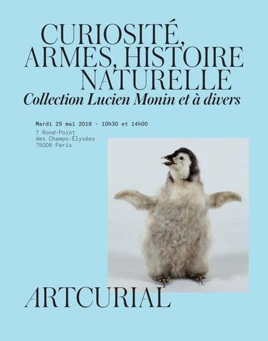 Curiosité, Armes, Histoire Naturelle by Artcurial - issuu 58fe7e3b4ac