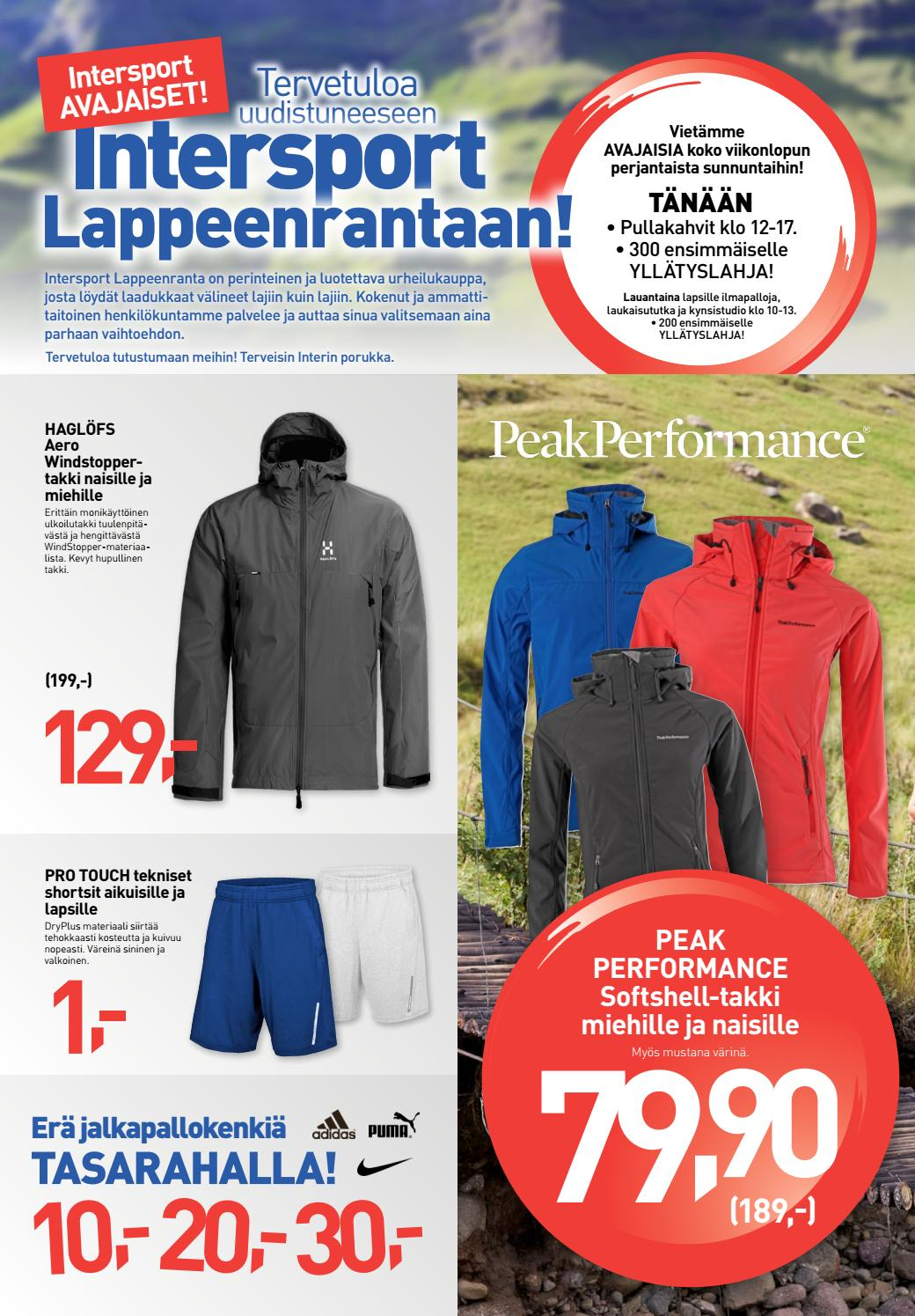 new arrivals c7d1c 6d90a Intersport Lappeenranta by Intersport Finland - issuu