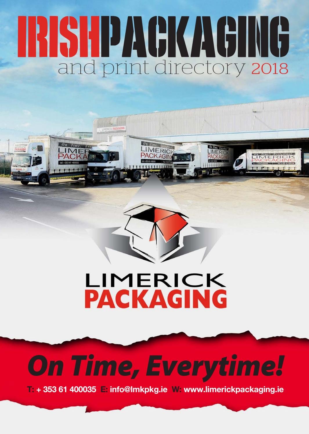 0155d415c0 Irish Packaging   Print Directory 2018 by Retail News - issuu