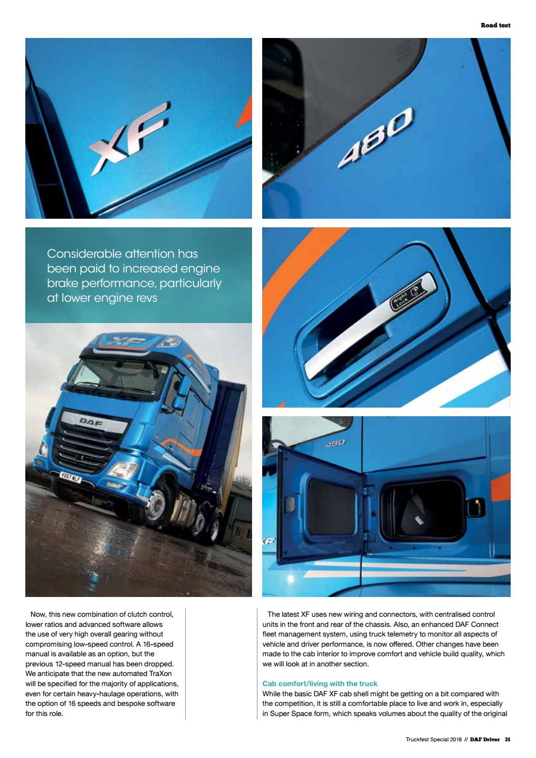 Daf Driver Truckfest Special 2018 Issue 14 Commercial Motor Wiring By Smith Davis Press Issuu