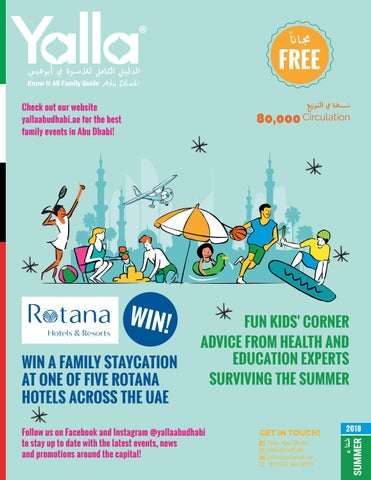 yalla know it all family guide summer 2018 by yalla abu dhabi issuu rh issuu com