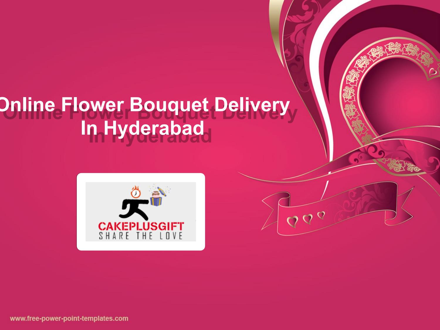 Flower Delivery Hyderabad Flower Bouquet Delivery Hyderabad