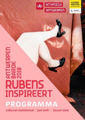 4b0440314ad Antwerpen Barok 2018. Rubens inspireert by Cultuur Stad Antwerpen ...