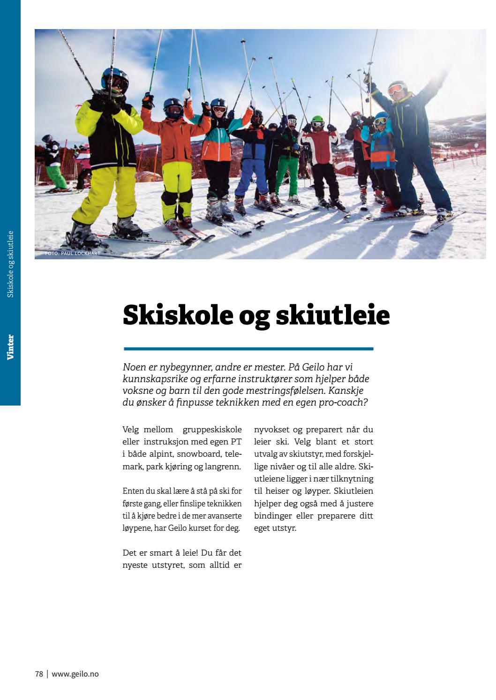 Preparere ski