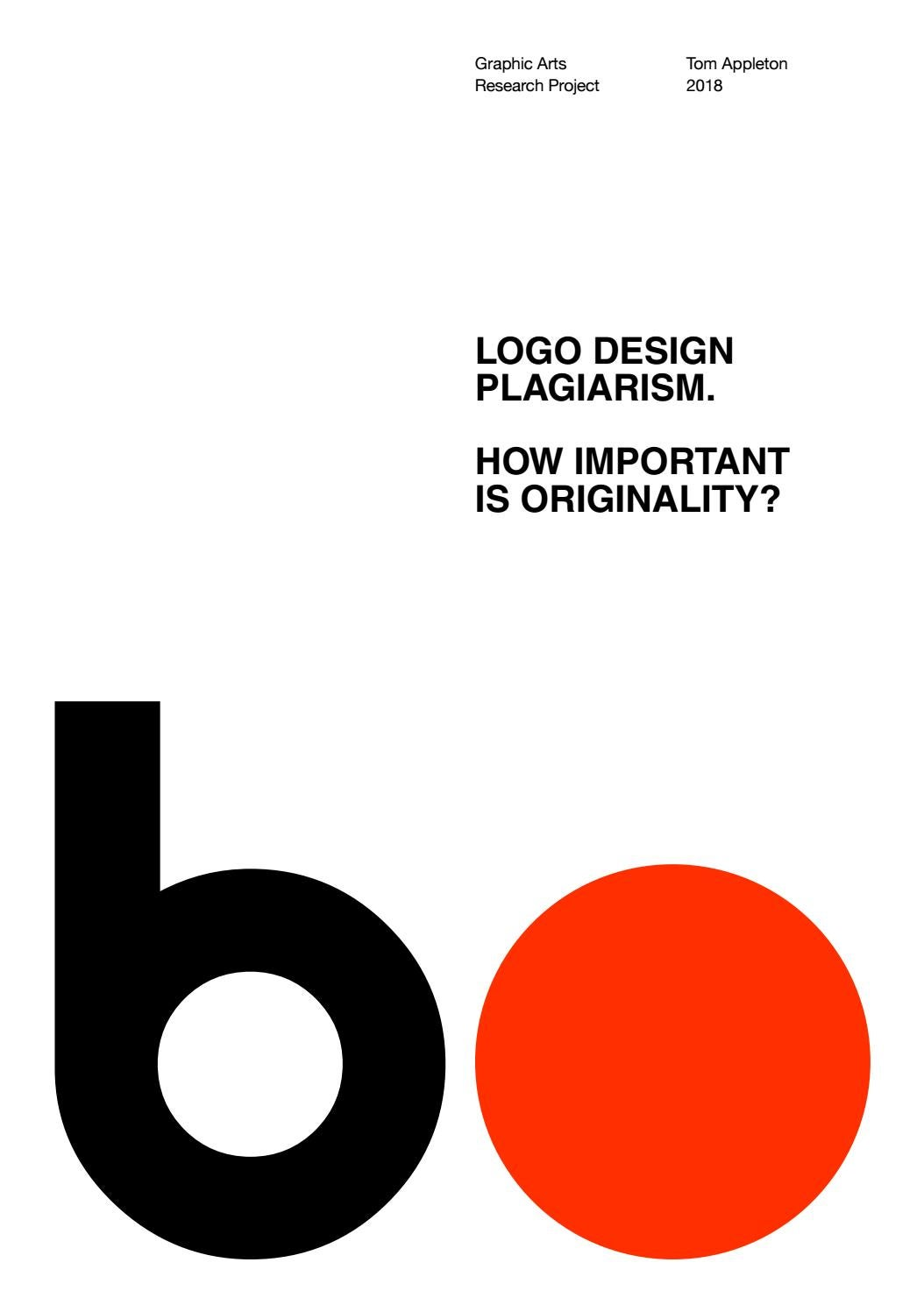 Logo design plagarism tom appleton by tomappletondesign - issuu