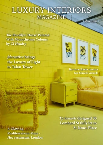 5ab57d4217 Luxury Interiors Magazine - May 2018 by Lapthorn Media - issuu