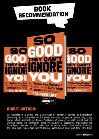 Page 27 of So Good They Can't Ignore You