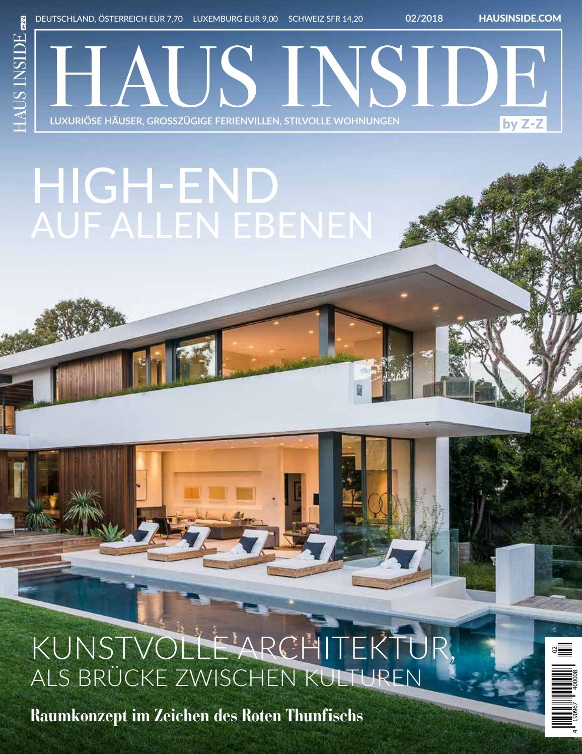 HAUS INSIDE Frühling 2018 by HAUS INSIDE - issuu
