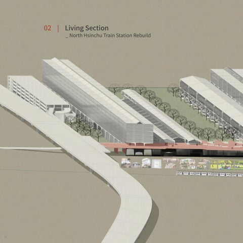 Page 16 of 02 | Living Section  _ North Hsinchu Train Station Rebuild