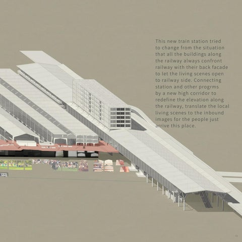 Page 17 of 02 | Living Section  _ North Hsinchu Train Station Rebuild