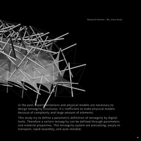 Page 39 of 05 | Parametric Definition of Tensegrity _ Rapid Assembly and Auto-molded Structure