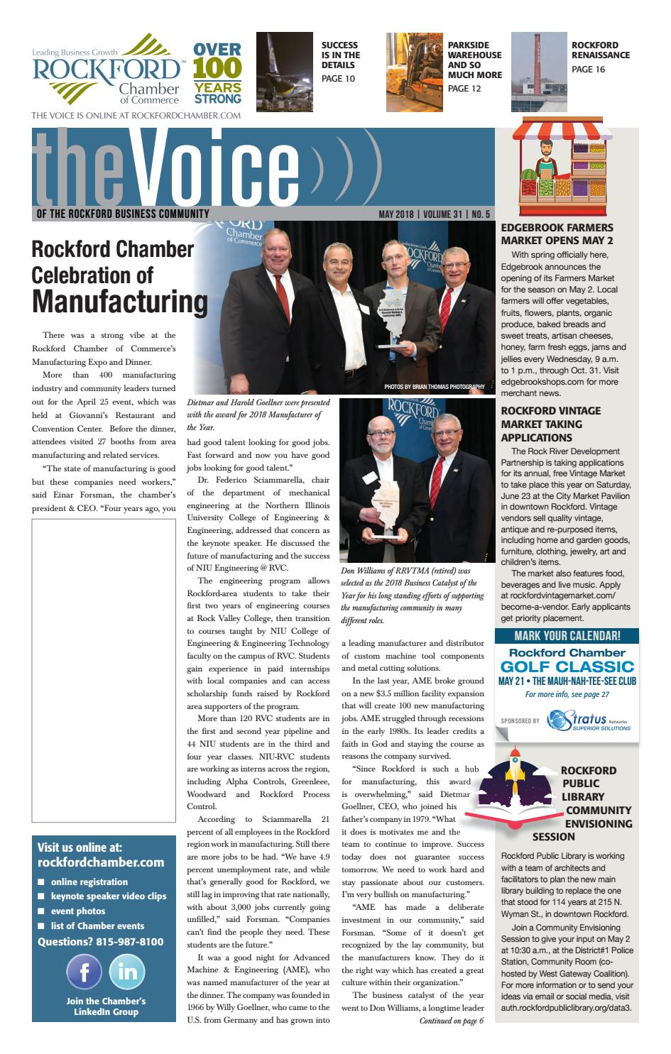 May Voice 2018 by Rockford Chamber of Commerce - issuu